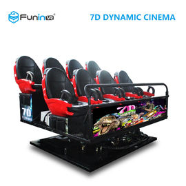 6 DOF Movement 8D / 9D / Xd Cinema / 5D Movie Theater Equipment