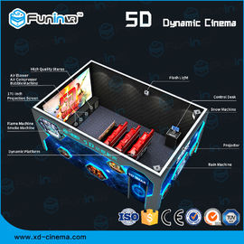 Dynamic Multi Dimensional 5D Cinema Equipment Pencahayaan / Efek Asap / Aroma