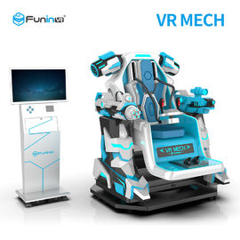 Platform Dinamis Interaktif Virtual Reality Cinema Simulator / 1 Mesin Pemutar Mecha VR