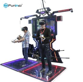 FPS Arena Gun Shooting Simulator Mesin Game VR Space Walk Dengan CE ROHS