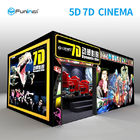 Cina 220V 8.0kw 7D Movie Theater Interactive Full Motion Cinema Seat 5D 12D Teknologi Hologram perusahaan