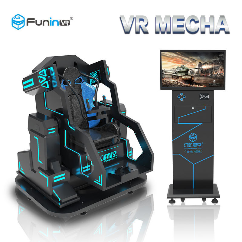 0.7KW 9D Virtual Reality Simulator Arcade Game Cinema Electric Crank Motion Platform