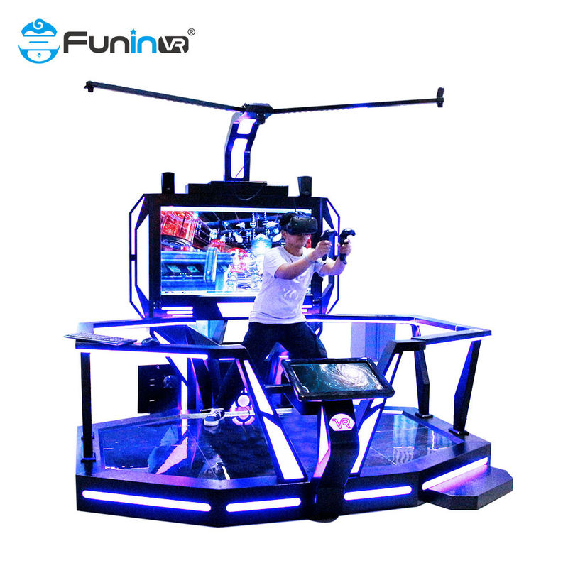 Interactive Arcade Game Machine Vr E Space Walk 9d Virtual Reality Cinema