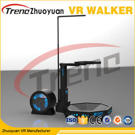 Permainan Treadmill / Pertempuran Tarian Hitam 800 Watt 9D Virtual Reality