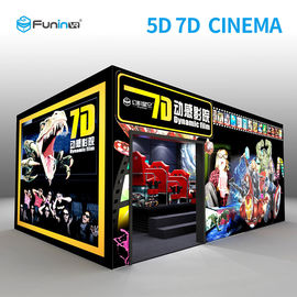 220V 8.0kw 7D Movie Theater Interactive Full Motion Cinema Seat 5D 12D Teknologi Hologram
